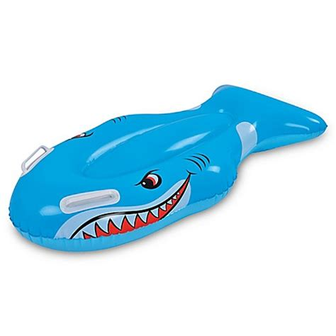 baby shark central park outdoor play gt pool central shark kickboard pool float in