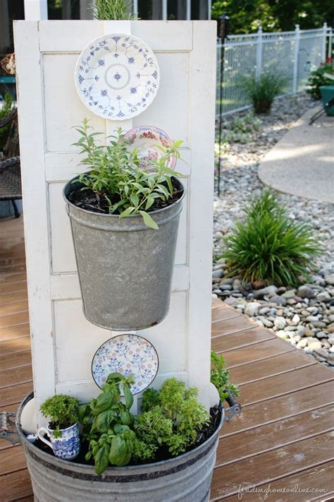 diy herb garden diy backyard kitchen herb garden