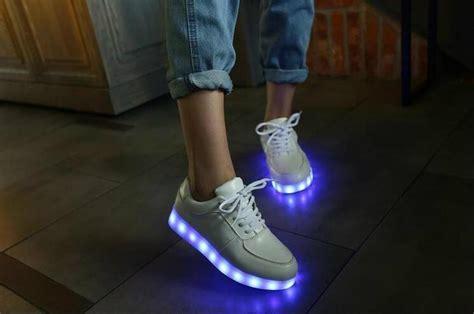 diy led shoes led light shoes led glowing shoes bright shoes