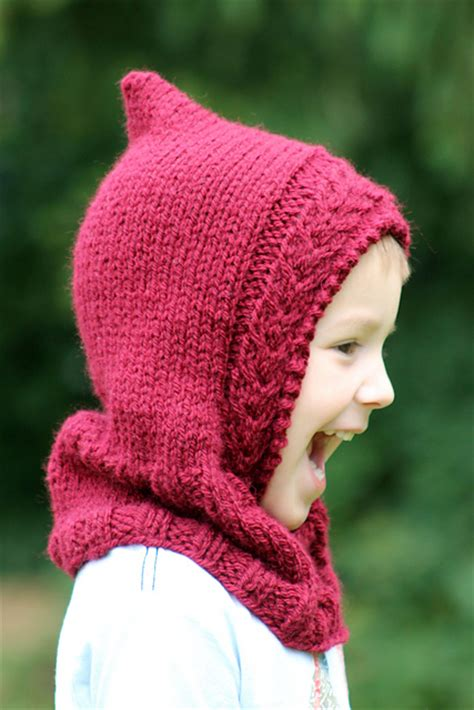 hooded cowl knitting pattern knitting patterns galore hooded cowl