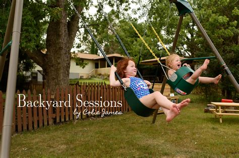 the backyard session parenthood sessions the backyard edition colie james