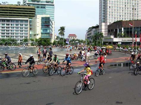 Jakarta Car Free Day car free day jakarta endahavrianti