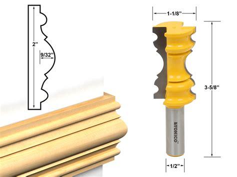molding profiles chair rail molding large - Chair Rail Router Bit