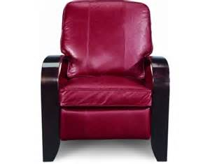 carlyle high leg leather recliner by la z boy furniture