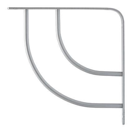 swing planit duraline plankdrager double swing zilver planit