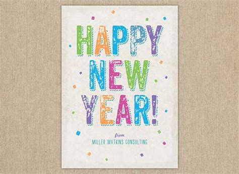 creative new year greeting cards 53 best merry and happy new year images on