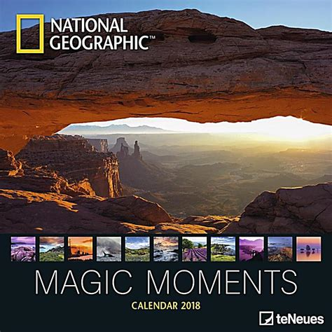 Calendar 2018 National Geographic National Geographic Magic Moments 2018 Kalender Bei