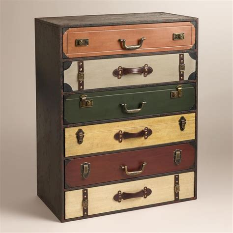 suitcase dresser suitcase chest of drawers for the home pinterest