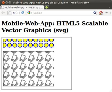 svg pattern patternunits mobile web app html5 svg pattern