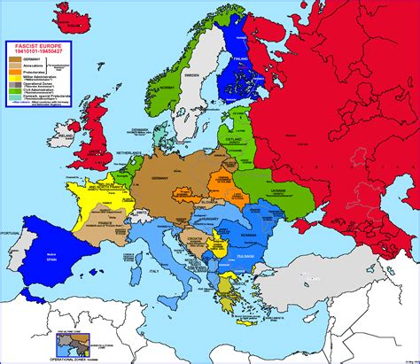 map of europe 1942 germany map 1942