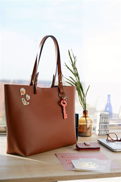 Fossil Tote Sticker 19 best images about personalize it on leather