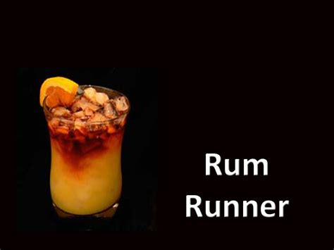 rum runner drink cocktail recipe youtube