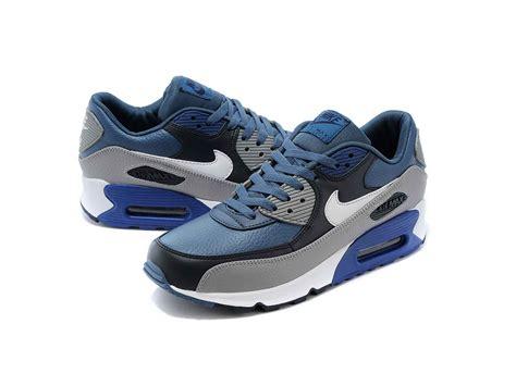 Nike Air Max 90 Grey Blue nike air max 90 ltr blue grey originalboot