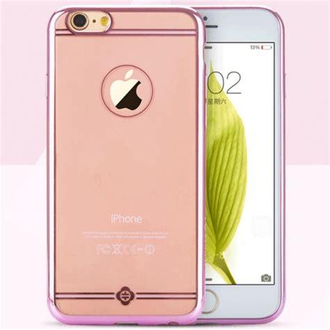 Totu Iphone 6 Plus Rosegold totu simple series electroplating flexi skal till apple iphone 6 s plus themobilestore