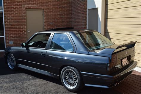 bmw seller 1988 bmw e30 m3 seller wants just 29 000 for his mint car
