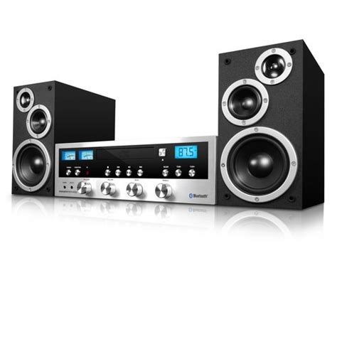 Bluetooth Shelf Stereo System by Innovative Technology Cd Stereo System With Bluetooth 79 13