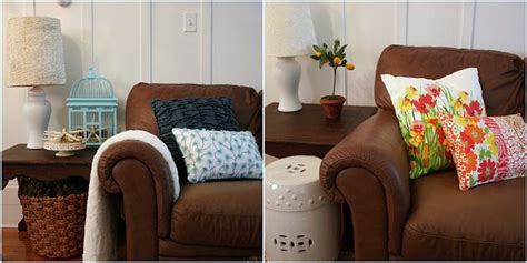 How To Decorate With Throw Pillows change a room s look with throw pillows home stories a to z