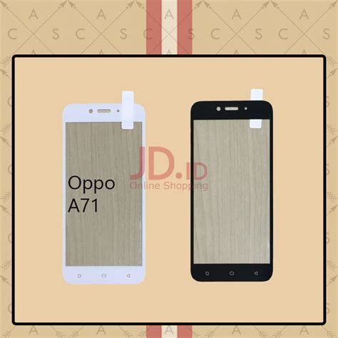 Oppo A57 Tempered Glass Color Warna Cover Screen Guard jual casa tempered glass warna color for oppo a71