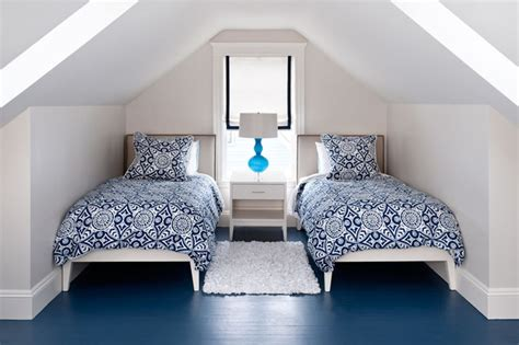 attic bedroom contemporary bedroom boston by mandarina studio interior design