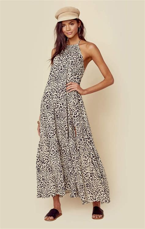 Maxy Dress Jaguar Blue best 25 leopard maxi dresses ideas on animal