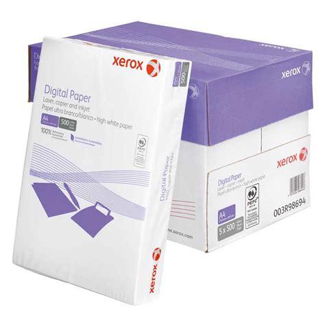 Paper One A4 80gr xerox white a4 copier paper single ream pack 500 sheets per ream makro co uk