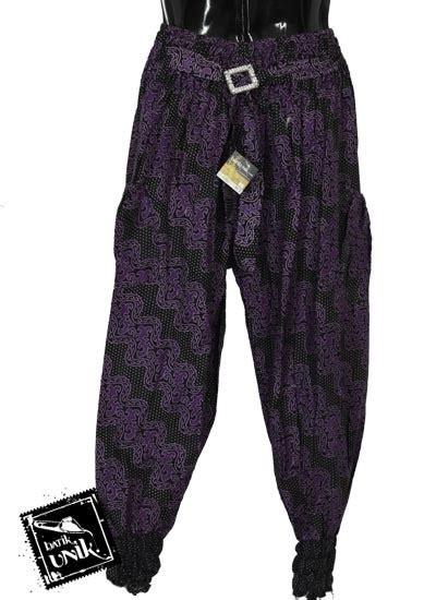 Celana Panjang Aladin Batik Cbm001 Murah baju batik celana aladin katun motif kembang batik