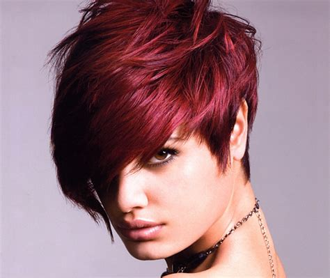edgy red hairstyles sexy hair the ultimate diy guide hairstyle blog