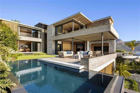 homes design center white marsh clifton house in cape town with a panoramic view of the
