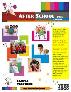 school flyers templates free after school program flyer templates pageprodigy print