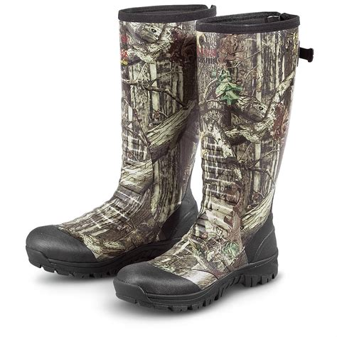 rubber boots hunting men s guide gear 174 800 gram thinsulate insulated rubber