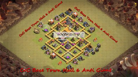 clash of clans war base 6 best base town hall 6 top th6 war base coc th 6 2017