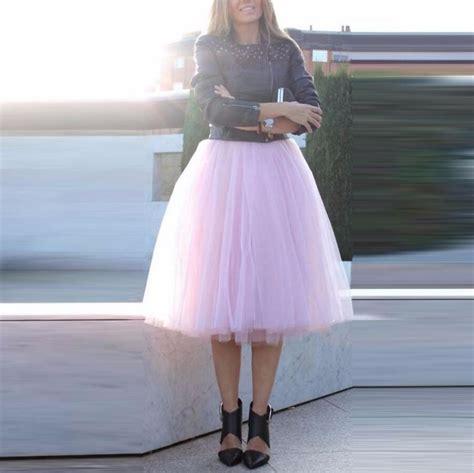 Pink Skirt Tutu Kaca fashion trendy pink tutu skirt a line tulle skirts