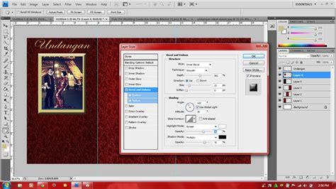 Tutorial Desain Web Dengan Photoshop Cs4 | tutorial membuat desain undangan menggunakan photoshop cs4