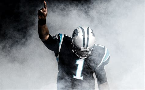 Cam newton is going into his first nfl playoff game