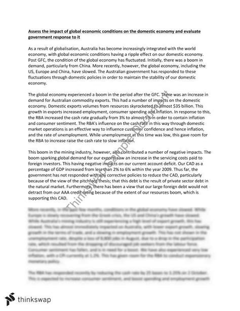 Global Economy Essay by College Essays College Application Essays Global