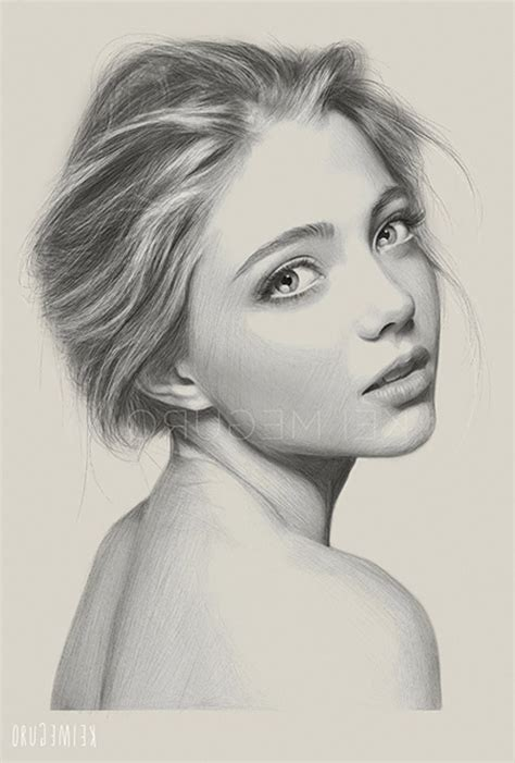 Best Woman Face Drawing Ideas And Images On Bing Find What You