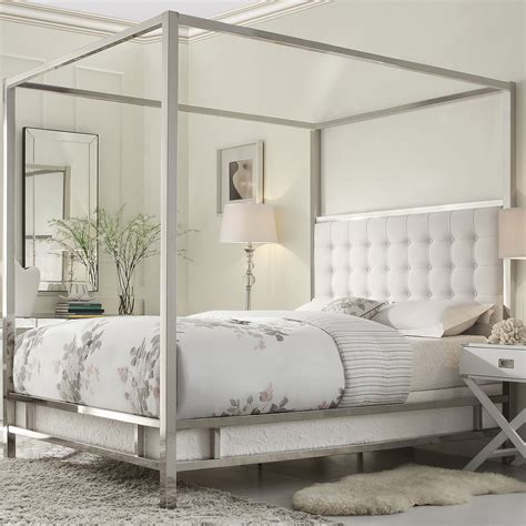 Platform Canopy Bed Frame Metal Canopy Bed Frame Design Matt And Jentry Home Design