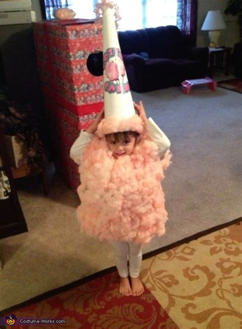 cotton candy diy costume diy instructions