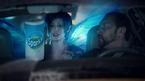 sparkle commercial fairy actress sparkle towels tv spot taxi cab ispot tv