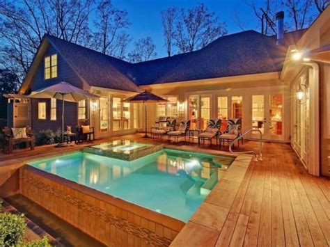 home design story aquadive pool u shaped hip roof ranch style house google search