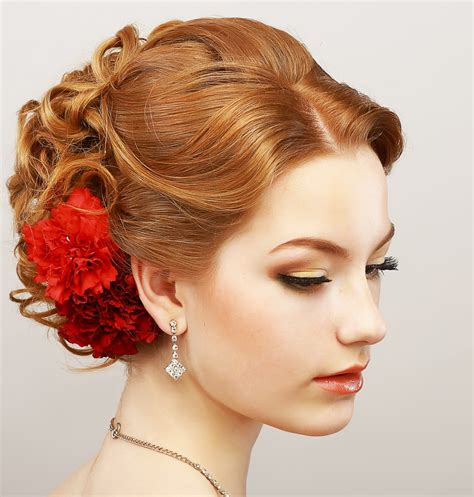 updo hairstyle pictures curly prom updo hairstyle for diamond oval faces 2018