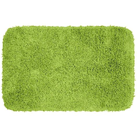 Bathroom Rugs Lime Green Garland Rug Jazz Lime Green 24 In X 40 In Washable