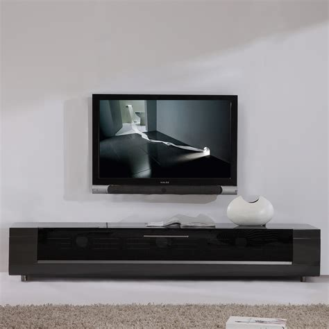 Meja Tv Import b modern bm 632 gry editor remix 79 quot contemporary tv stand in high gloss gray lacquer flip