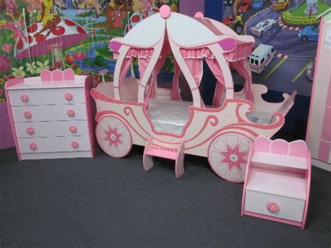 carriage bed for girl package girls princess carriage bed 4 pieces bedroom package