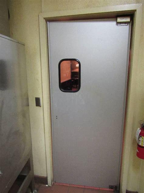 swinging door bbq 83 x36 eliason swinging kitchen door overland park