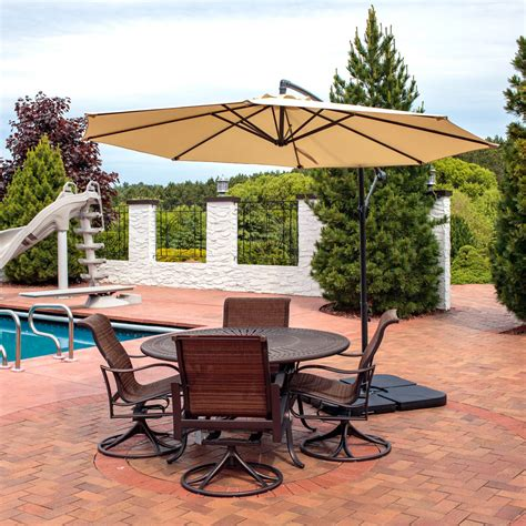 Small Patio Umbrellas Small Cantilever Patio Umbrella Uk Icamblog