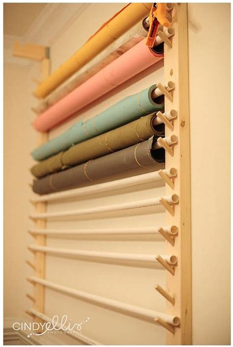 Wrapping Paper Rack Wall Mount by Wall Mount Fabric Gift Wrapping Paper Rack Home Sweet