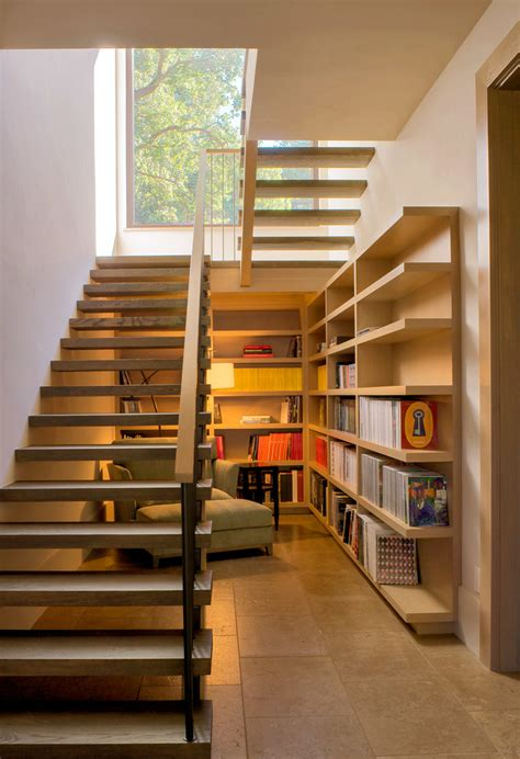 under stairs library design 15 stair design ideas for unique creative home