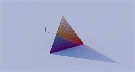 color pyramid subtractive color pyramid studio jakob kvist