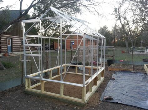 harbor freight greenhouse 6x8 harbor freight greenhouse assembly daddykirbs farm